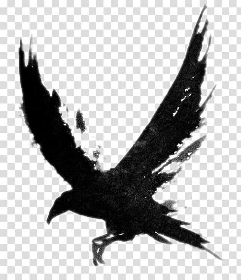 Tattoo Crow Common raven Bird Black.