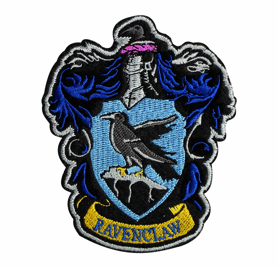 Ravenclaw Crest Patch Harry Potter Stickers Ravenclaw.