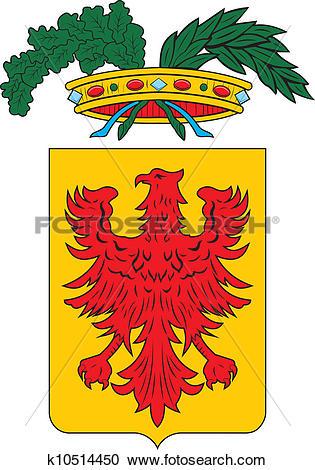 Clipart of Ravenna prov coa k10514450.
