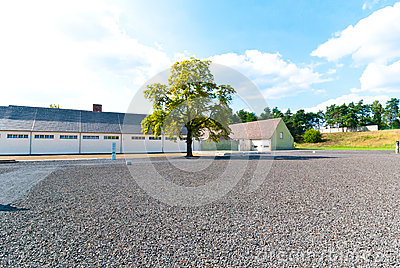 Ravensbruck Concentration Camp Editorial Stock Photo.