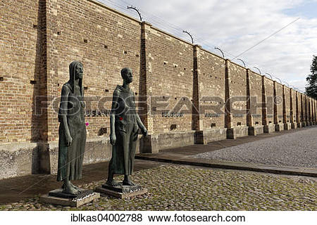 "Pictures of ""Sculptures of women in front of the Wall of Nations."