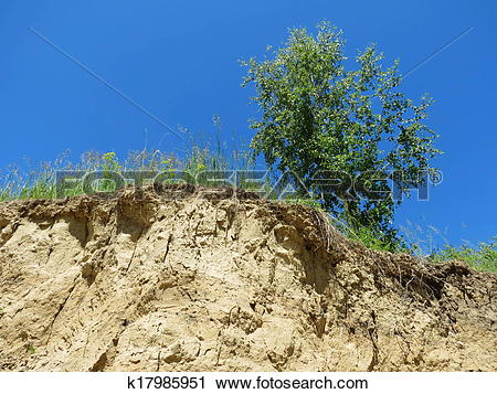 Stock Photography of Steepe ravines k17985951.