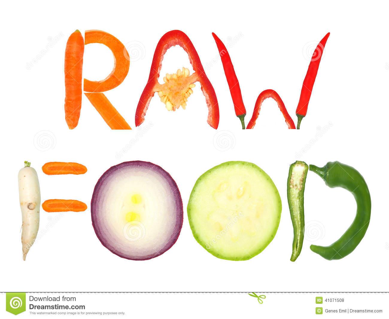 Raw Food Stock Photo.