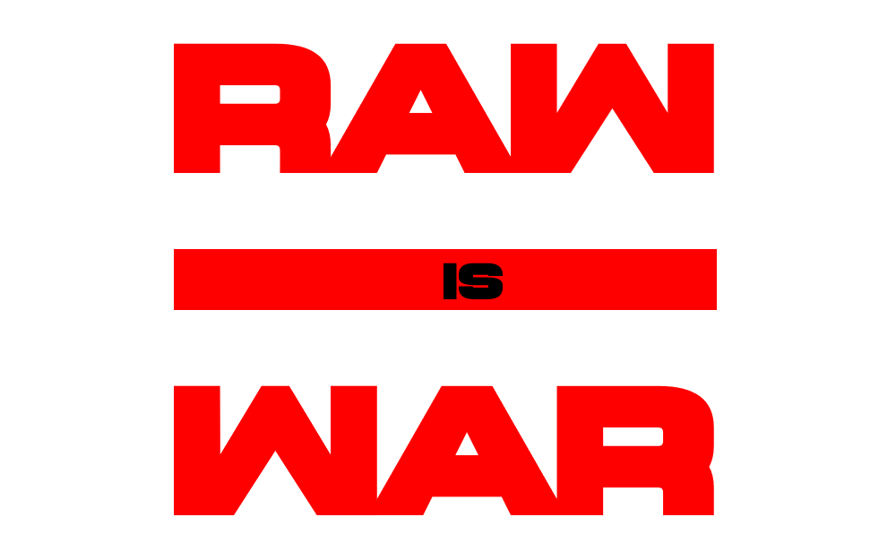 Raw is war logo png 4 » PNG Image.