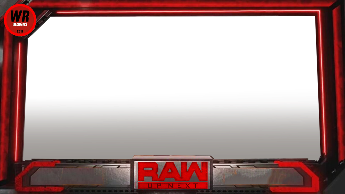WRESTLING RENDERS & BACKGROUNDS: RAW MATCH CARD.
