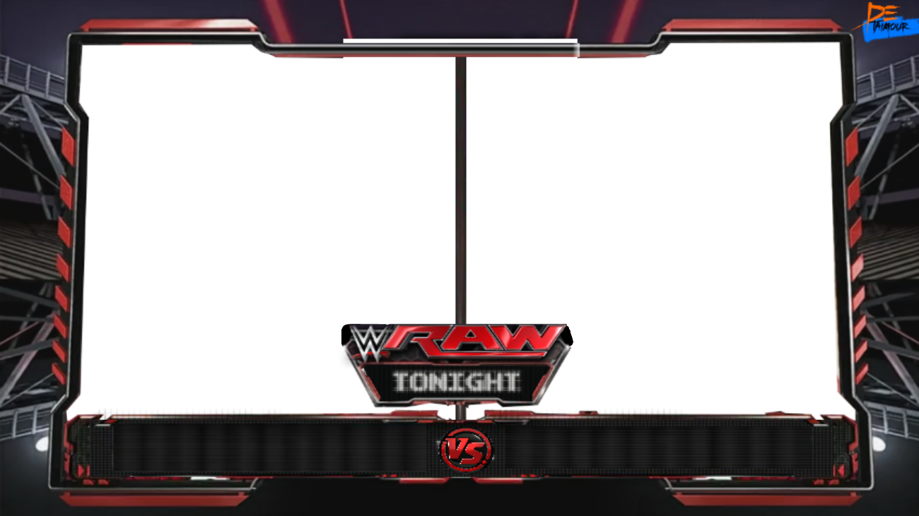 HD Wwe Raw Match Card Template 268470.