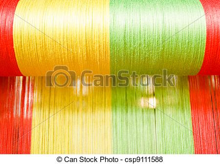 Pictures of Raw silk.