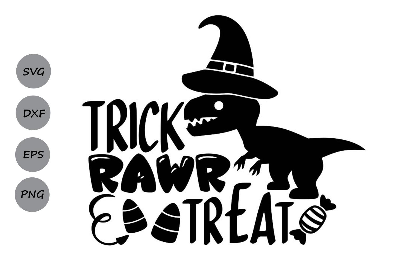 Trick Rawr Treat.