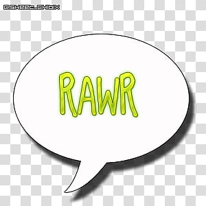 Rawr transparent background PNG cliparts free download.