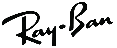 Ray ban logo white png Transparent pictures on F.