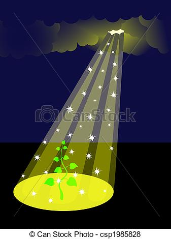 Ray of hope clipart.