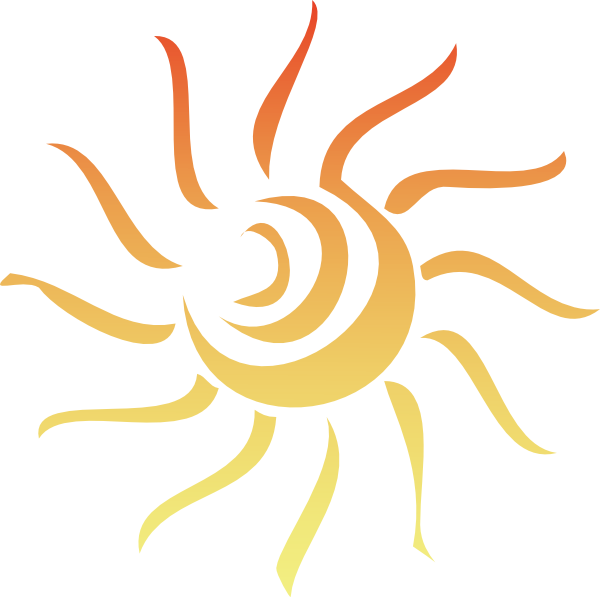 Cliparts Red Sun Ray Clipart.