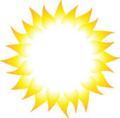 Ray of sunshine clipart.