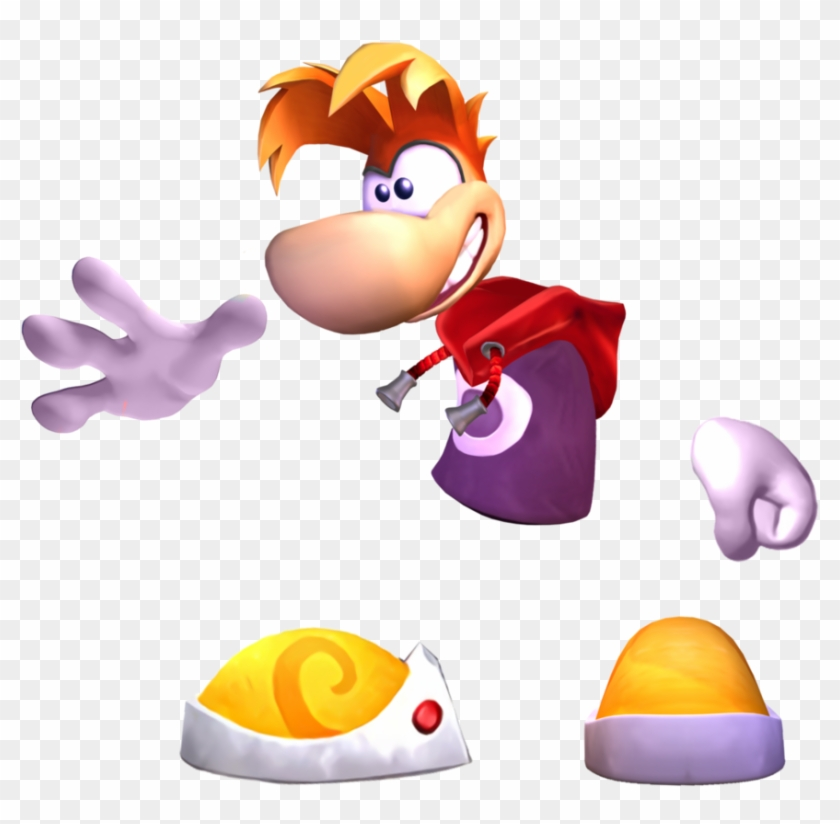 Rayman Whirlcopters Into.
