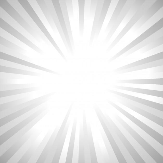 Fondo de rayos de sol abstracto gris.