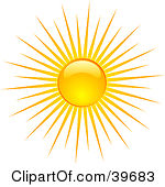 rays of sunlight clipart clipground