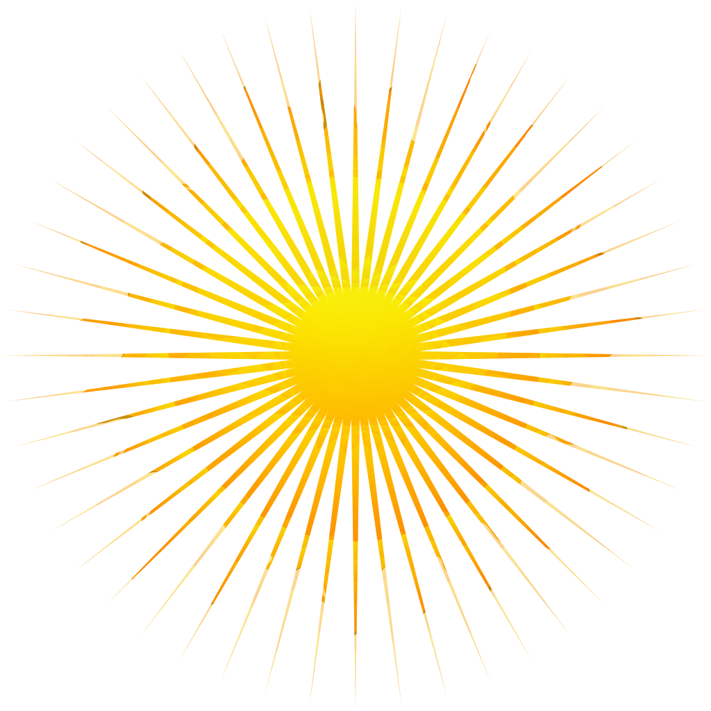 Sun Rays Png (+).
