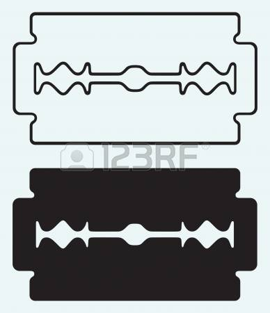 3,760 Razor Blade Stock Illustrations, Cliparts And Royalty Free.