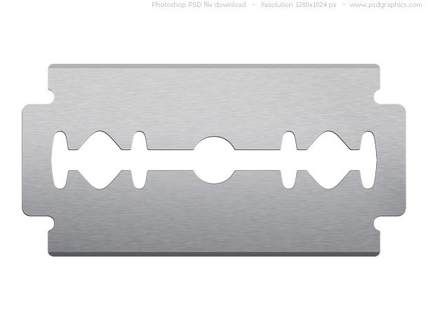 Clipart razor blade.