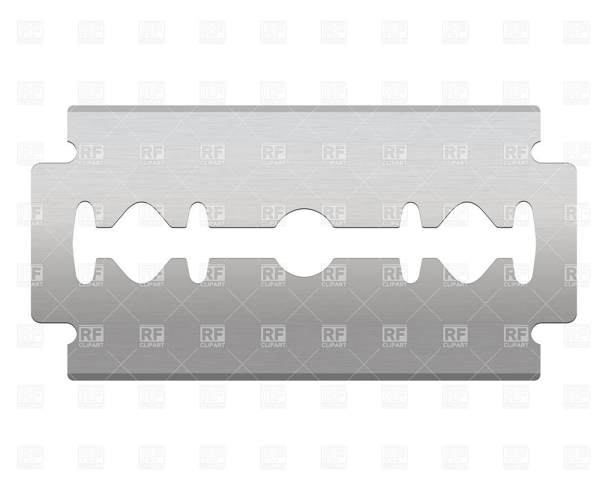 Razor blade Vector Image #26336.