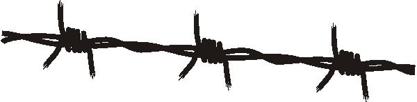 Tribal Razor Wire Clipart.
