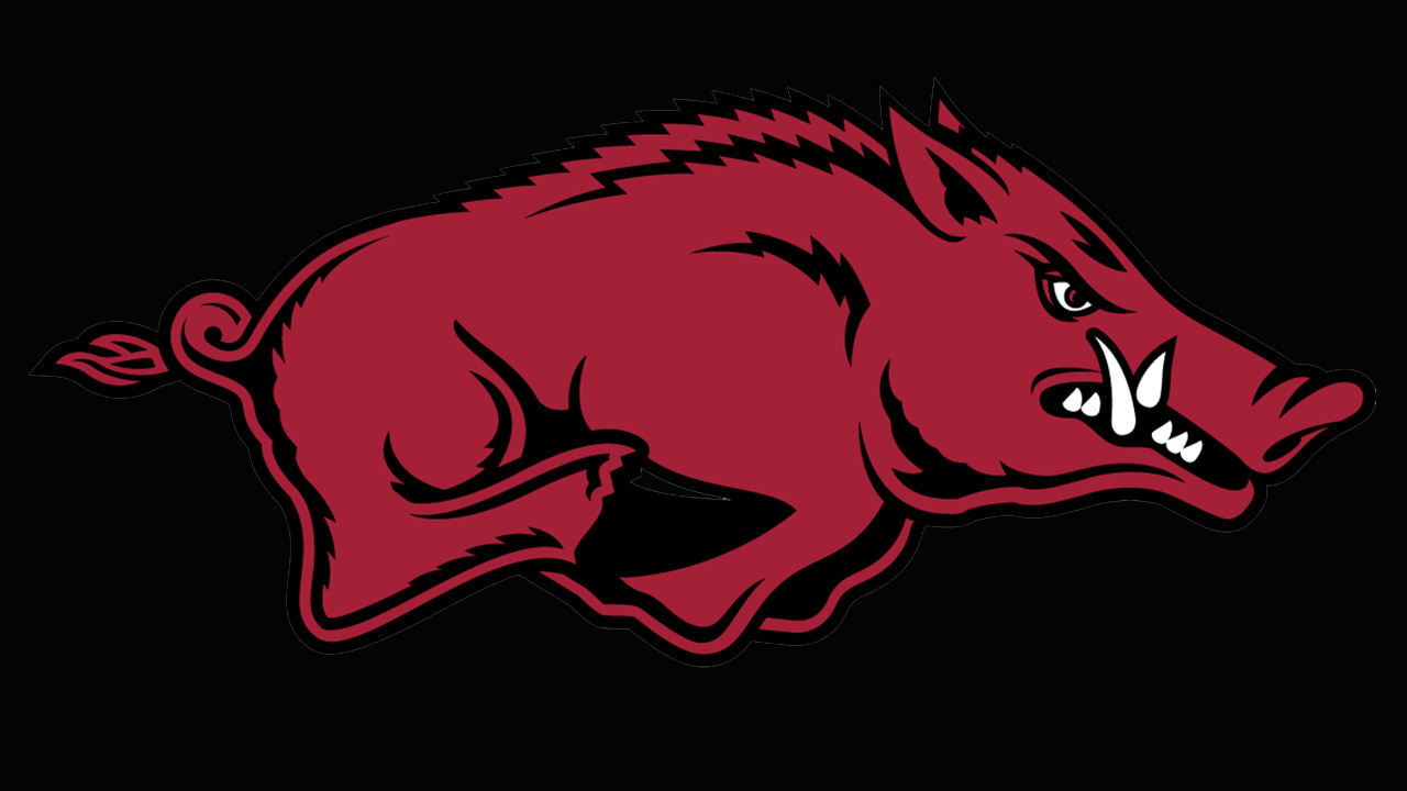 Arkansas Razorbacks logo.