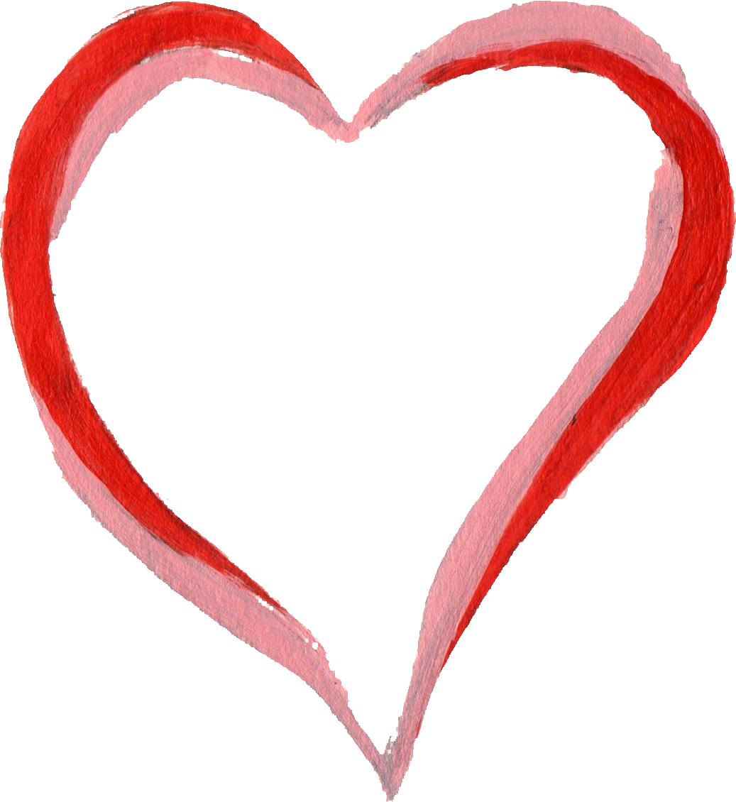 Brush heart jpg transparent download png files, Free CLip.