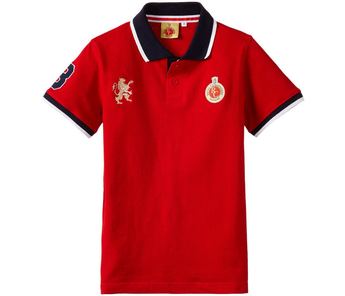RCB Official Casual Polo Kids T.
