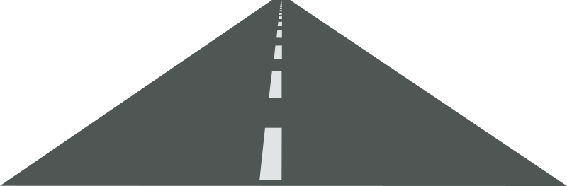 On the road clip art clipart.