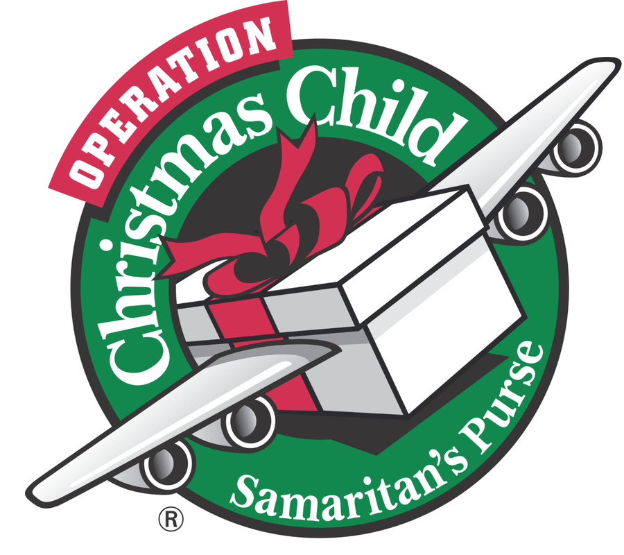 Operation Christmas Child.