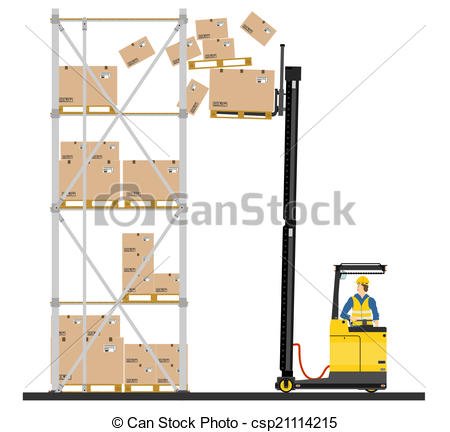 Reach truck Illustrations and Stock Art. 158 Reach truck.