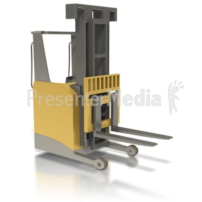Forklift And Reach Truck.