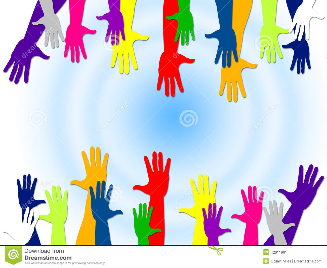 Reaching Out Represents Arm Human And Relationships Stock.