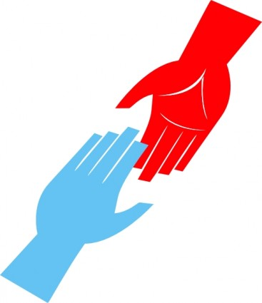 Clipart Hand Reaching Out.