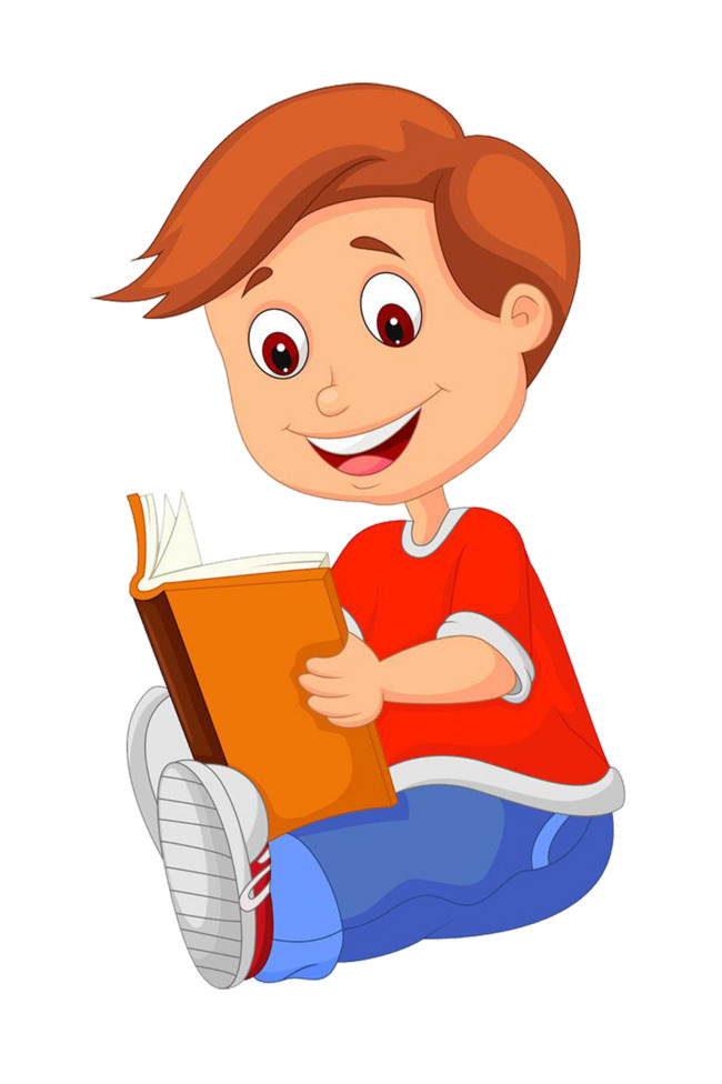Reading Villain Clipart Vector Read Book Image And Png.