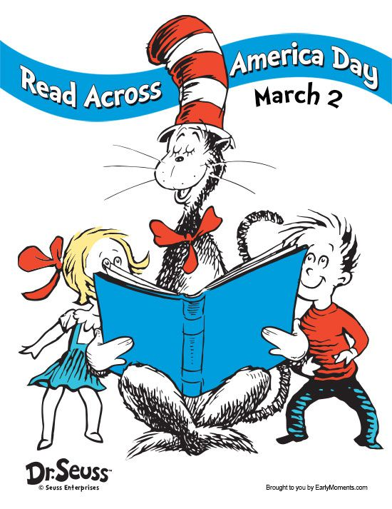 HAPPY READ ACROSS AMERICA DAY!.