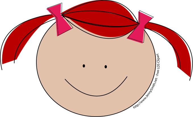 Redhead Clipart.
