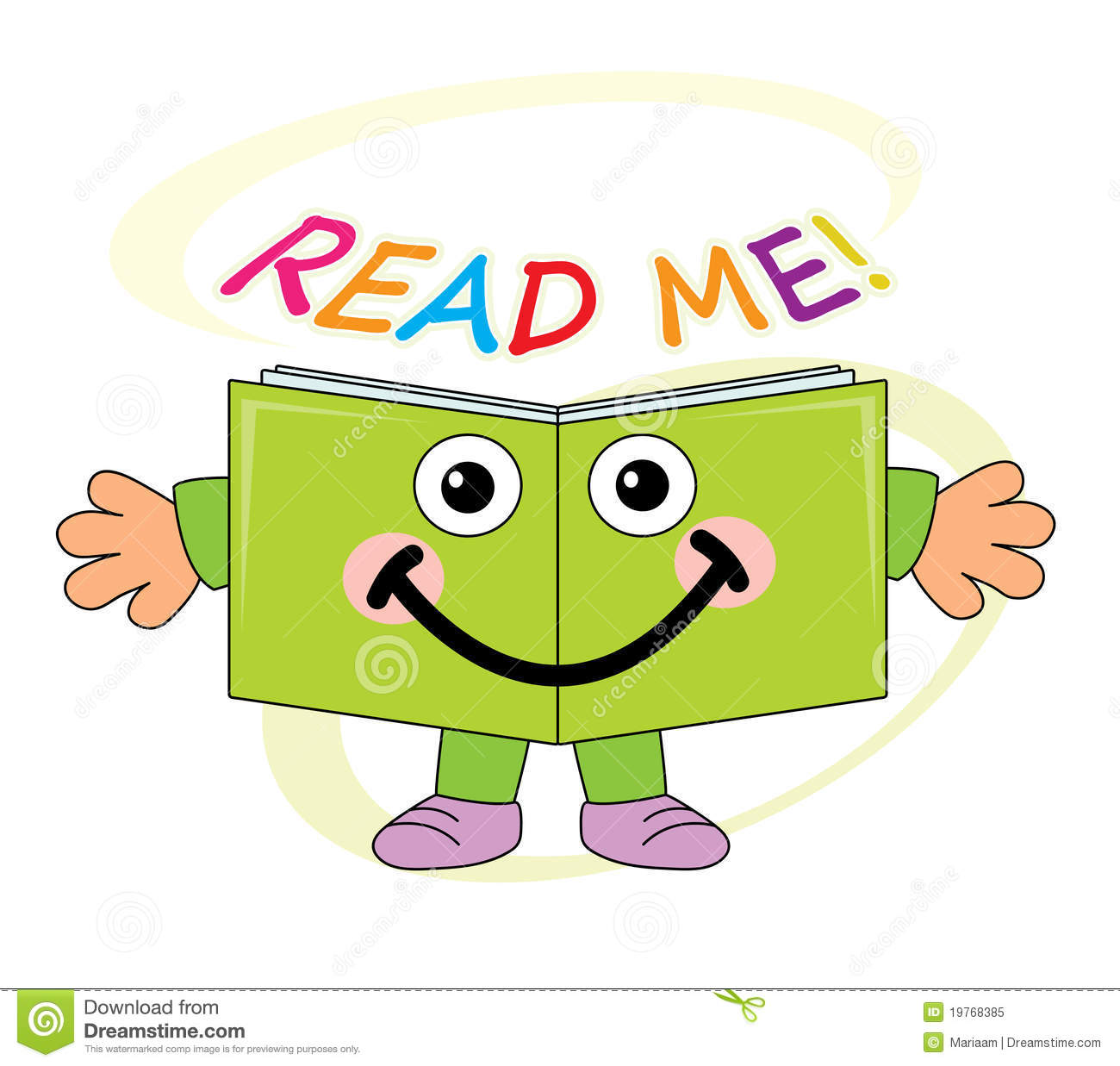 Read me clipart 5 » Clipart Station.