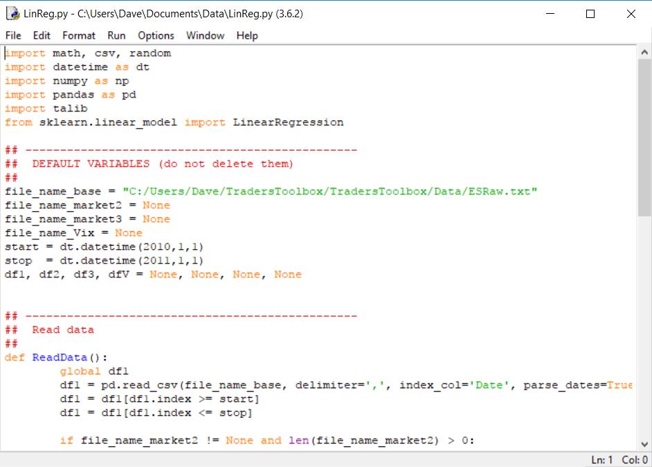 Python Tips.