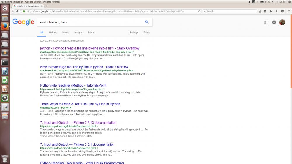 Googling for Beginners.
