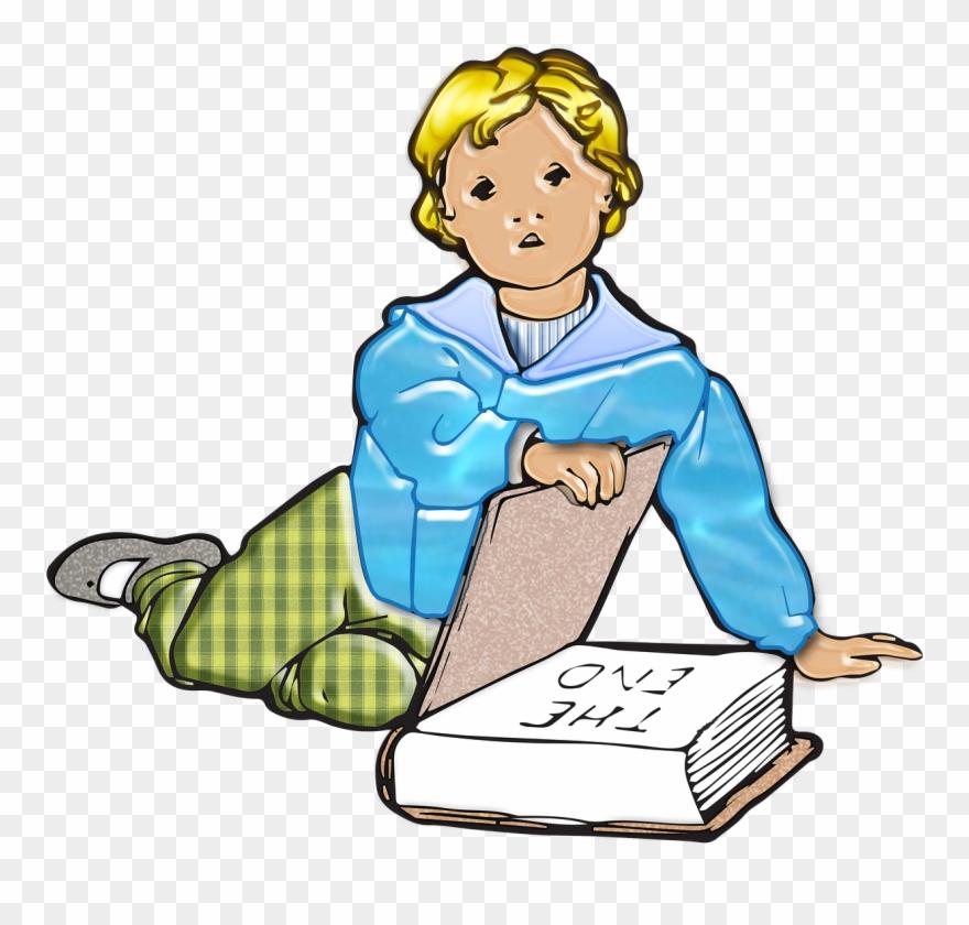 Boy, Child, Little Ones, Kid, Vintage, Book, Read.