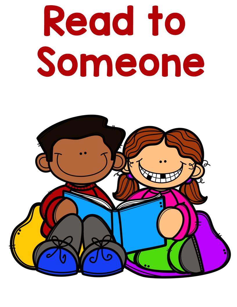 Read To Someone Daily 5.