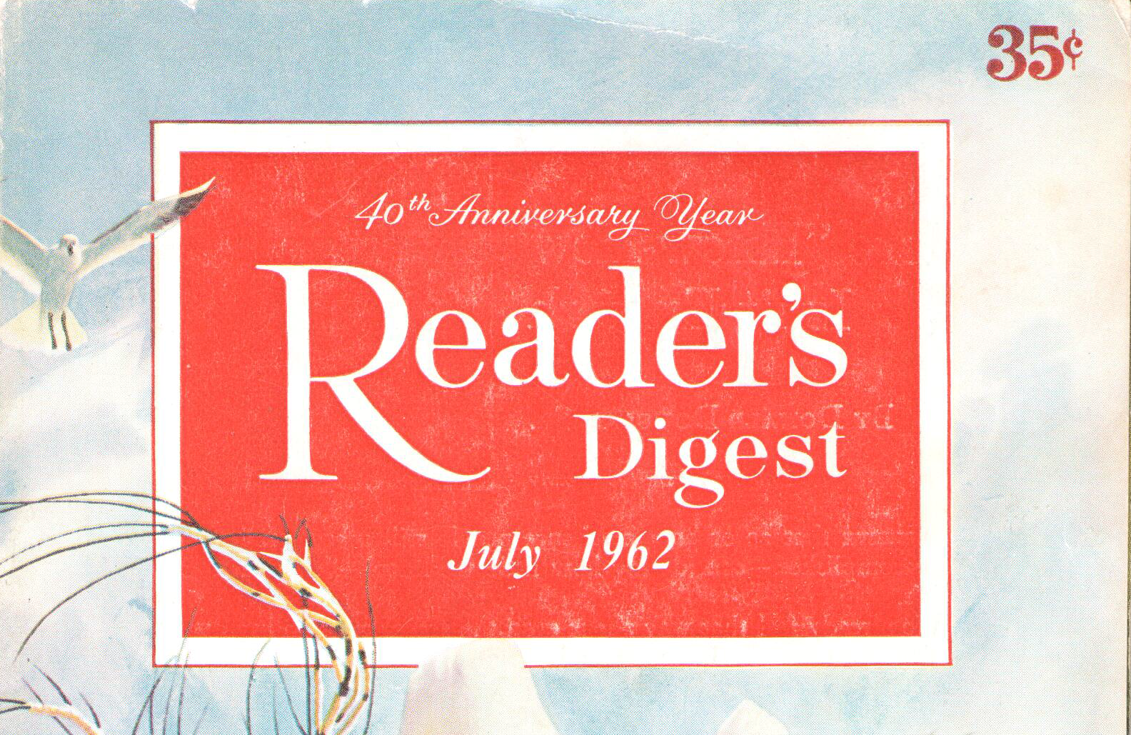 When A Readers Digest Magazine is The Same Age as You.