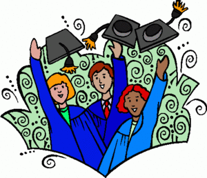College and Career Readiness Clip Art.