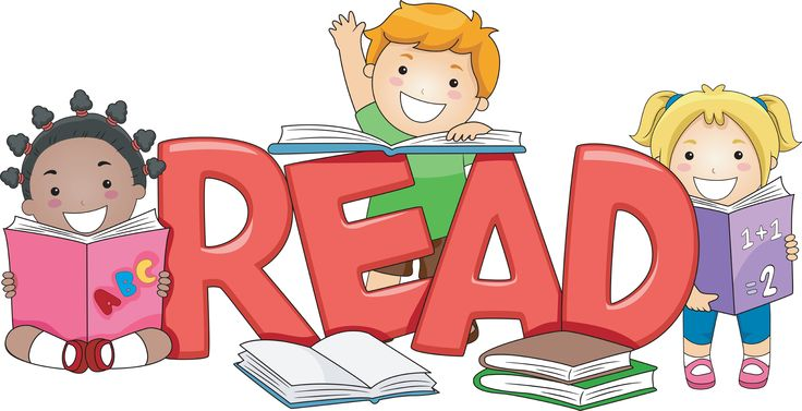 77+ Reading A Book Clipart.
