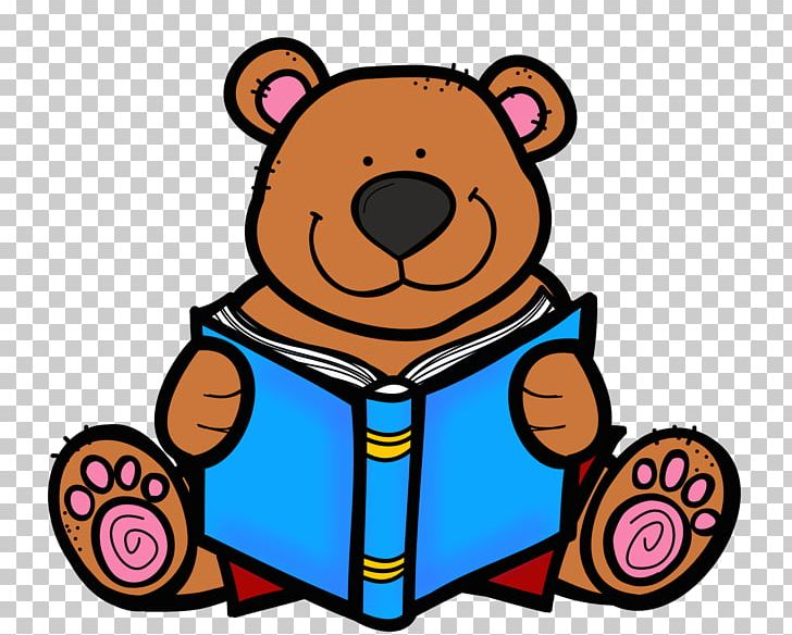 Reading Bear Free Content PNG, Clipart, Animal, Artwork.