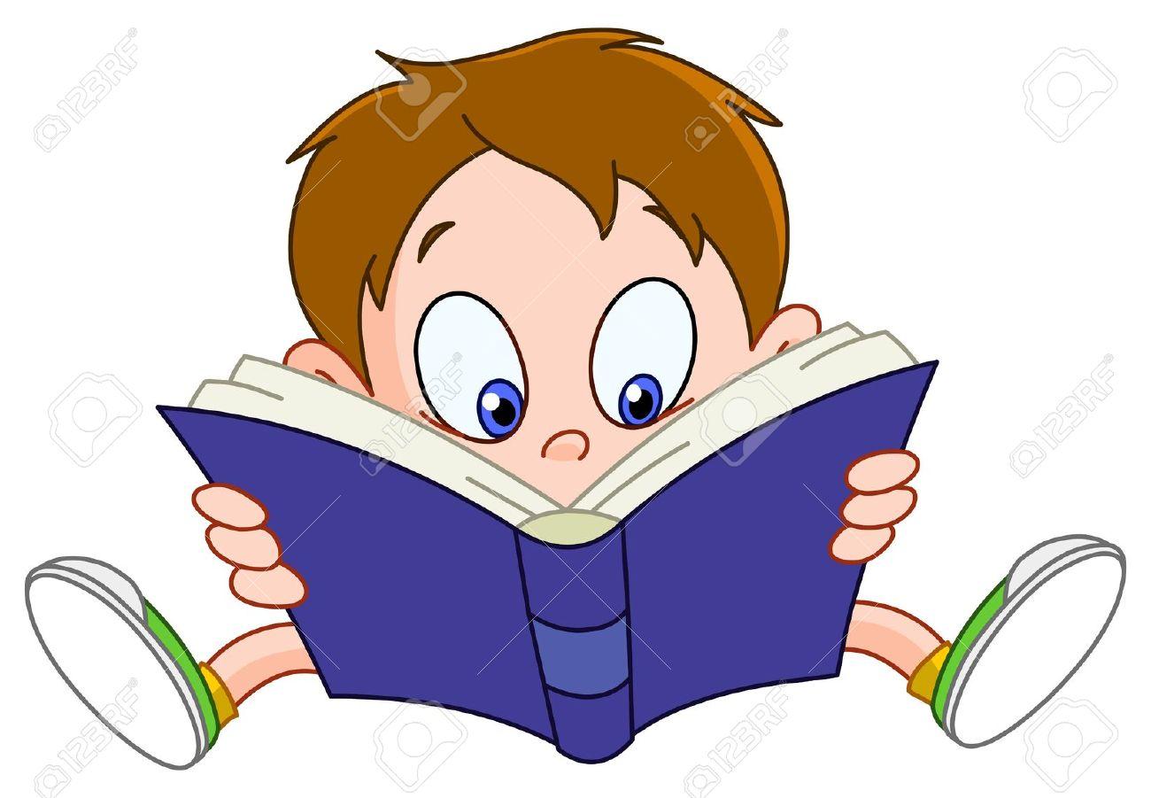 Reading cartoon clipart 1 » Clipart Station.