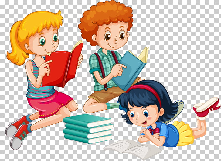 Reading , class room PNG clipart.