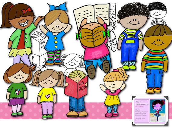 Kids Classroom Clipart.