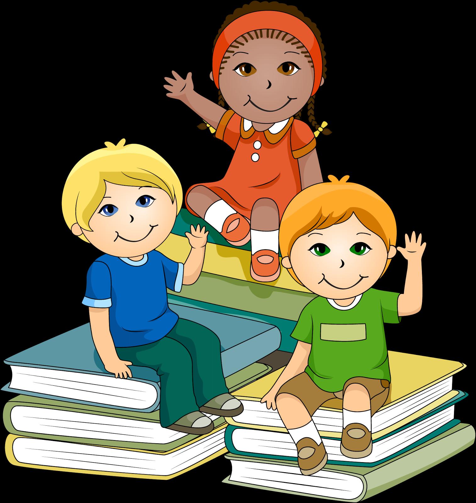 Kid reading kids reading clipart clipartfest.